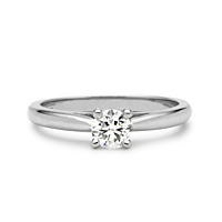 Solitaire Diamond Ring, 0.15Ct