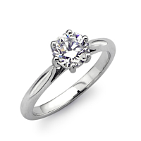 Solitaire Diamond Ring 0.70Ct