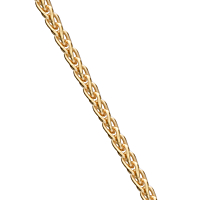 "Yg Barleyweave Chain 45Cm (18)"""