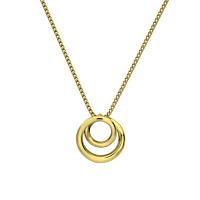 18Ct Gold Swirl Pendant