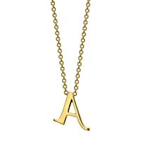 Gold Initials - A