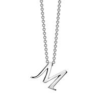 Gold Initials - M