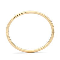 Oval Hinged Bangle