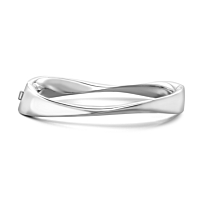 Silver Polished Bangle