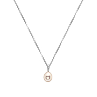 18ct white gold fresh water pearl pendant