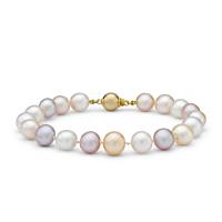 Pastel Freshwater Pearl Bracelet