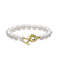 Cellini Akoya Pearl Toggle Bracelet