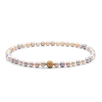 Multicolour Freshwater Pearl Necklace