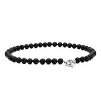 Black Onyx Toggle Necklace