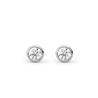 Diamond Stud Earrings, 0.10Ct