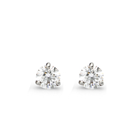 Diamond Stud Earrings, 0.20Ct