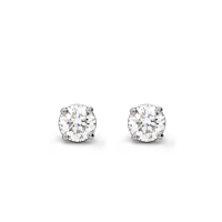 Diamond Stud Earrings, 0.40Ct