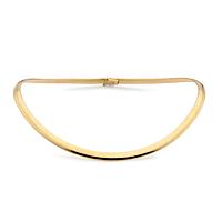 18Ct Gold 6Mm Flexible Collar