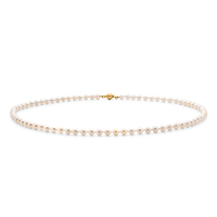 5-5.5Mm Freshwater Pearl Necklace, 40Cm