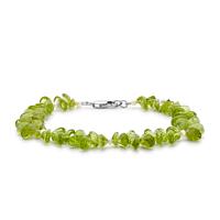 Peridot Bead Bracelet