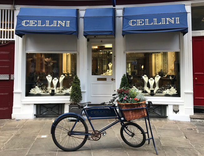 Cellini Jewellers Shop